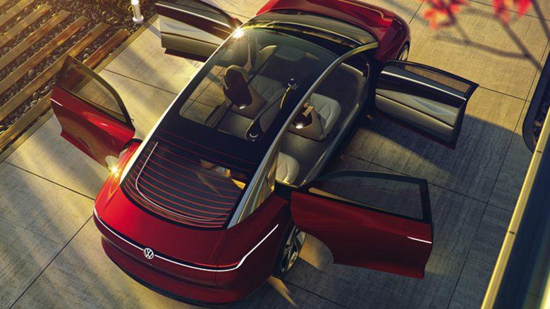 Volkswagens Konzept des I.D. Vizzion. © Volkswagen AG