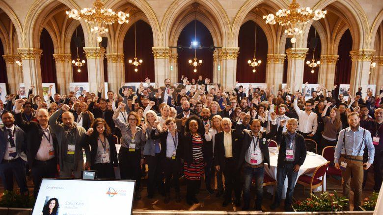 Bei den World Summit Awards im Wiener Rathaus. © WSA
