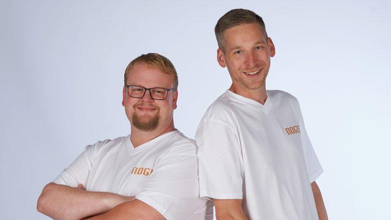 Die NoGIS-Founder Thomas Höffinger und Andreas Hackl. © NoGIS