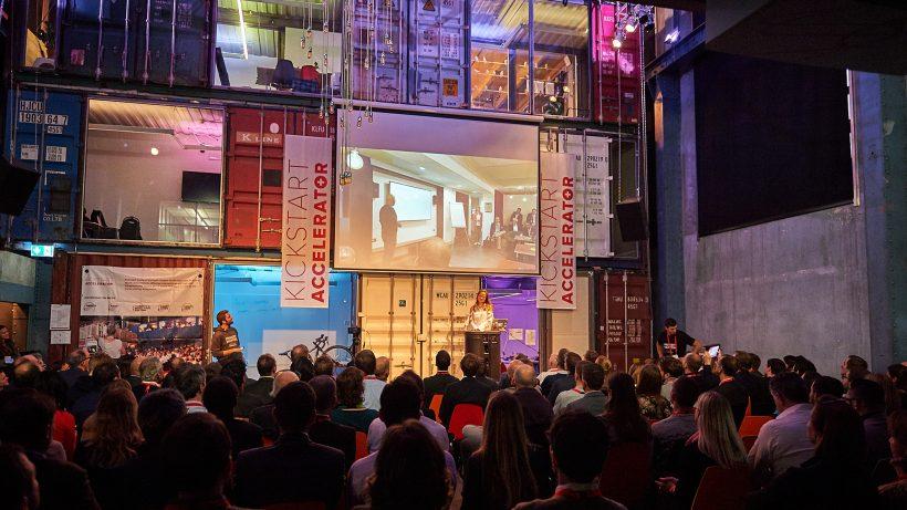 Der Demo Day des Kickstart Accelerators in Zürich. © Anja Wurm