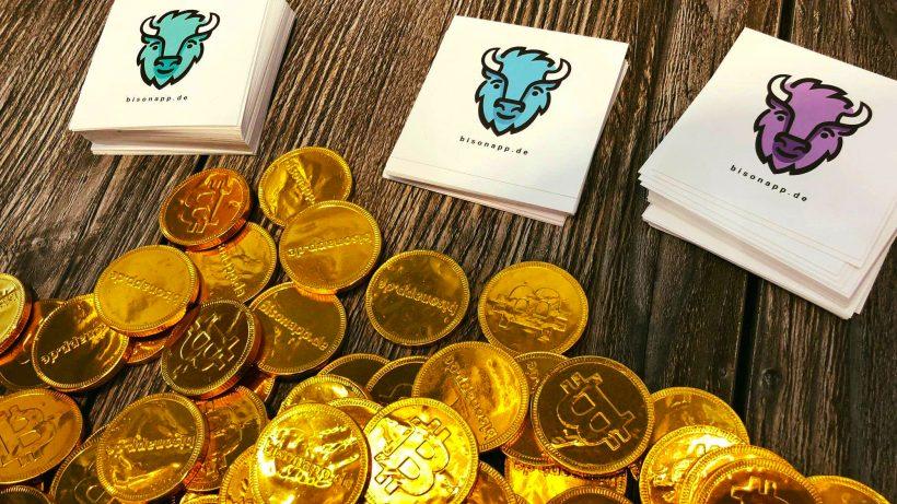 Bison App: Börse Stuttgart will Kryptowährungen handeln lassen. © Bisonapp.de