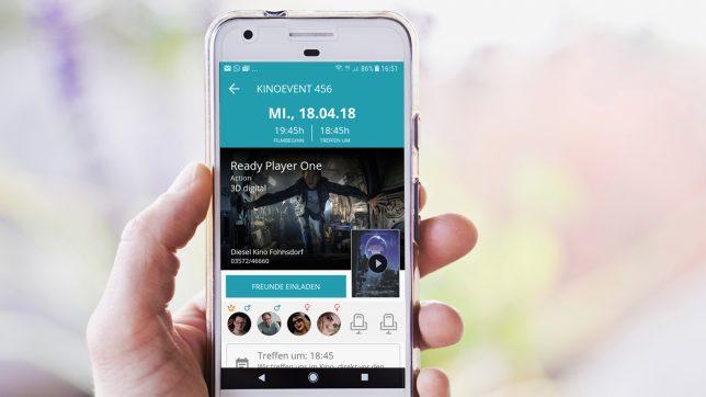 Die Cinn-App am Smartphone. © unsplash.com