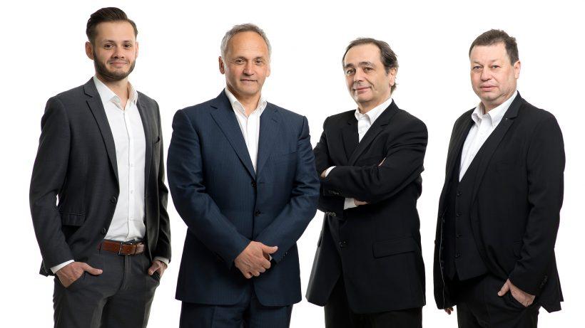 Marco Neumayer, Hans Neumayer, Walter Kassegger und Berno Mogel von Fenja Funds. © Fenja Funds