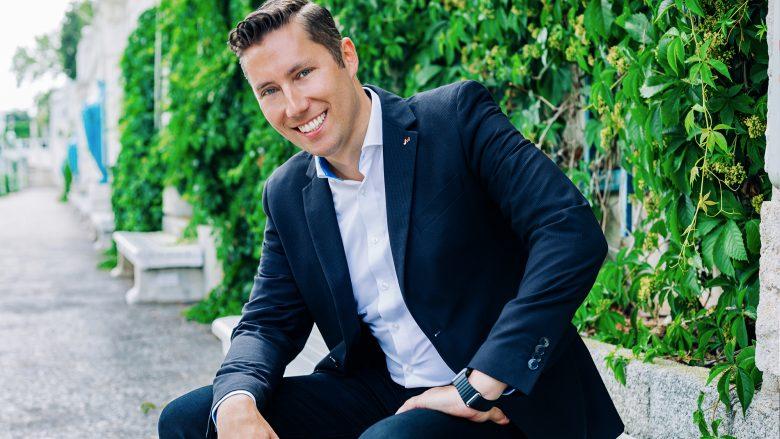 Jürgen Tarbauer, Landesvorsitzender der Junge Wirtschaft Wien. © David Faber