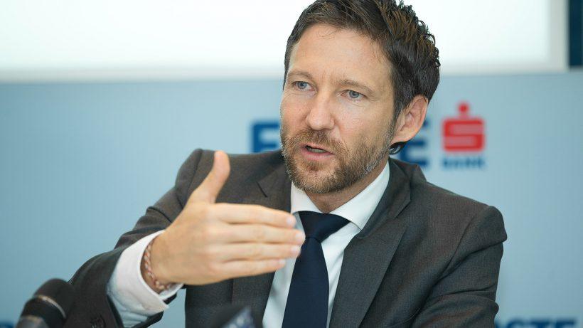 Thomas Schaufler, Mitglied des Vorstands der Erste Bank. © Erste Bank