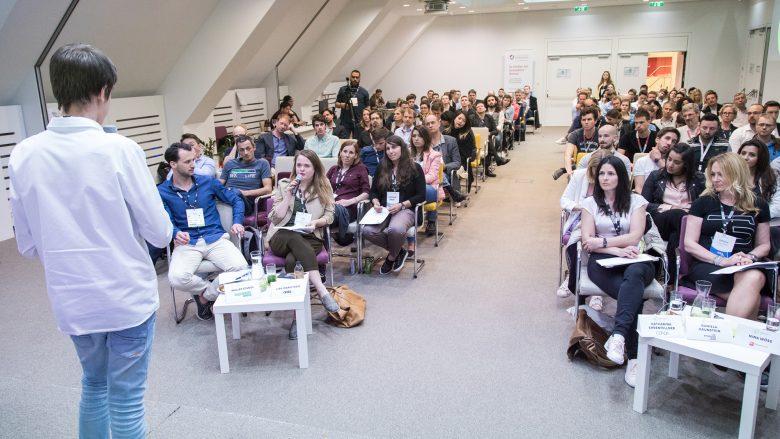 Beim Startup Live Vienna am Wochenende. © Startup Live Vienna