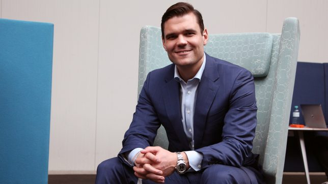 "Alex Tapscott, co-author of the book ""The Blockchain Revolution"". © Jakob Steinschaden"