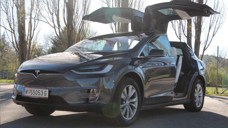 Tesla Model X 100D. © Jakob Steinschaden