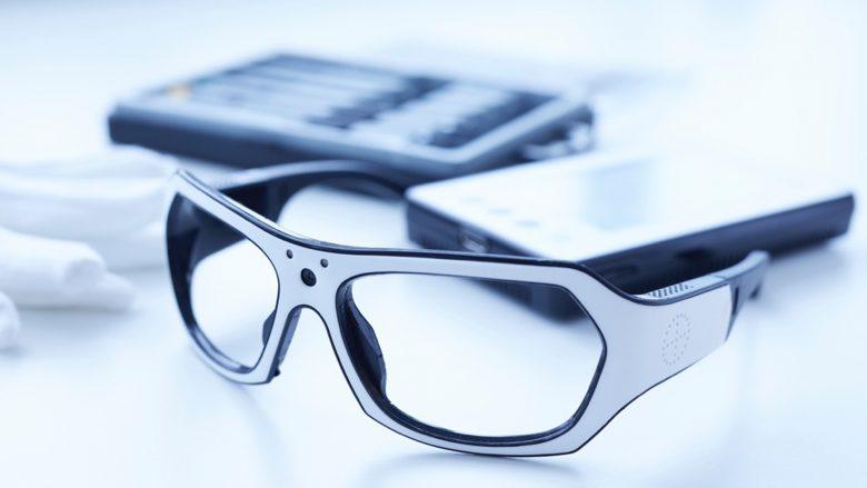 Die Datenbrille von Viewpointsystem. © Viewpointsystem