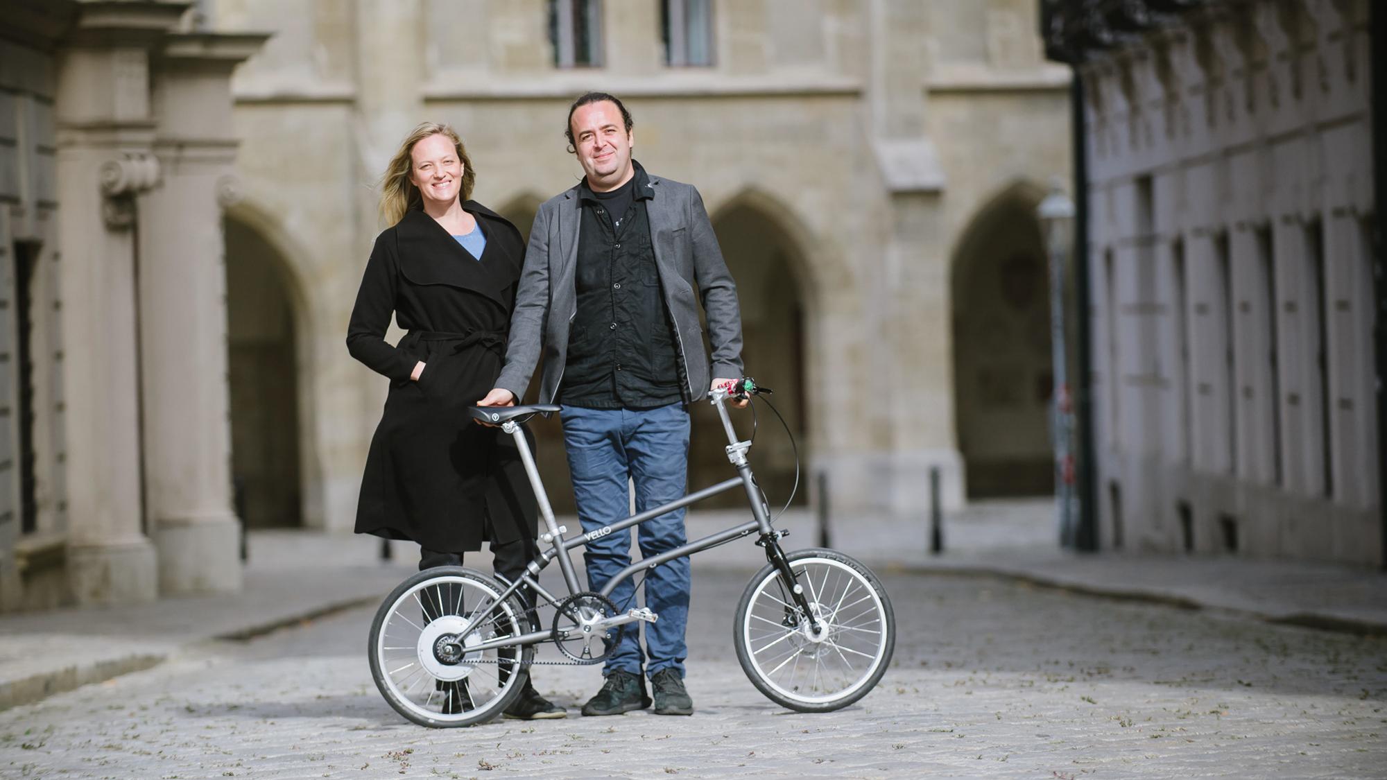 Vello Bike: Falträder mit Elektroantrieb für mehr Freiheit