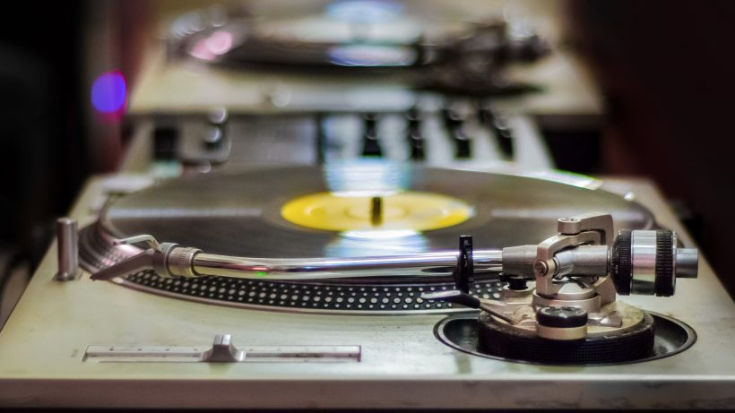 Still spinning: die Schallplatte. © Pixabay