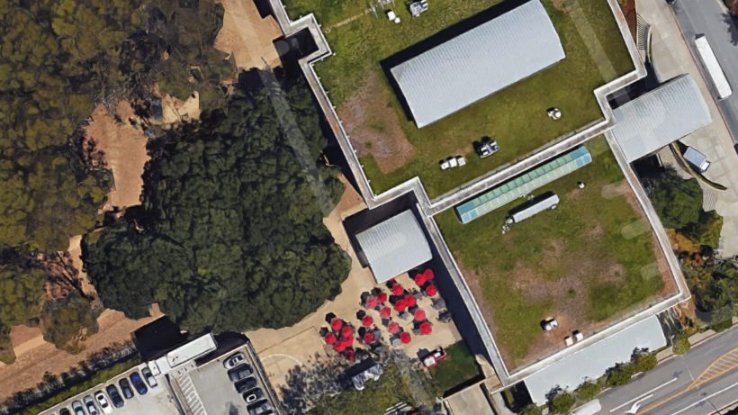 Das YouTube-Headquarter auf Google Maps. © Google