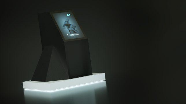 """Daniel Mattes """"K1"""" ist ein High-Performance-Computer mit Künstlicher Intelligenz. © 42.cx"""