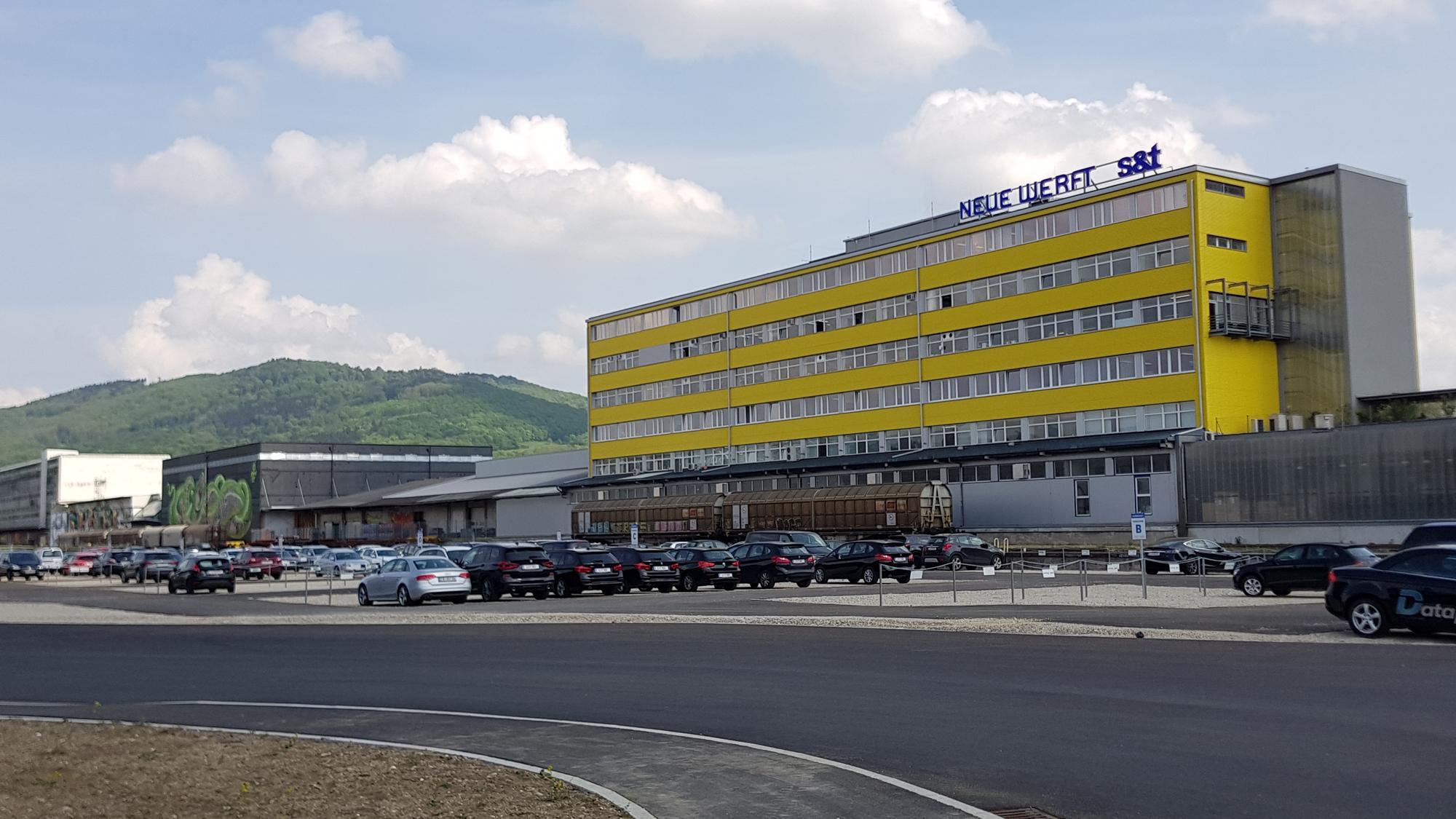 Die Neue Werft am Winterhafen in Linz. © Trending Topics