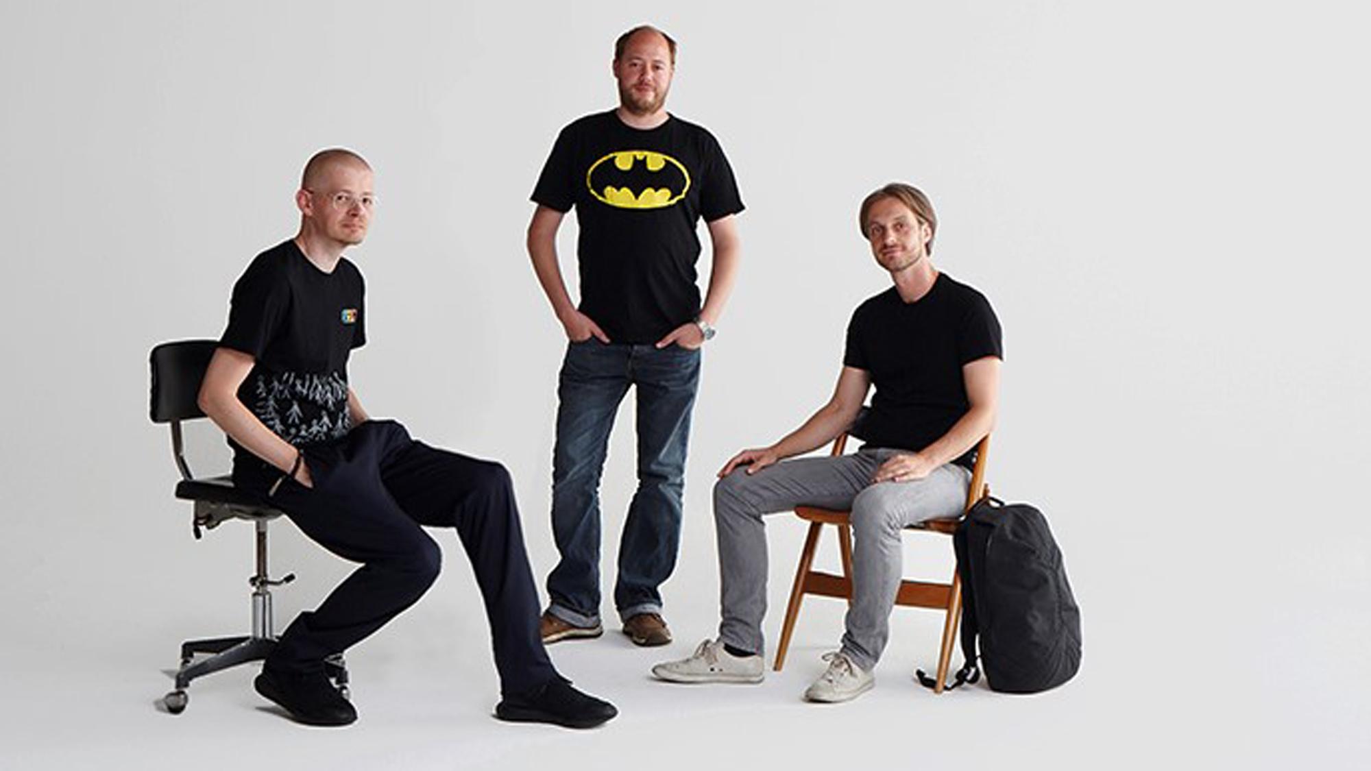 Das Skarabeos-Team: Wolfgang Langeder, Manuel Seckel und Christian Dils. © Skarabeos 2018