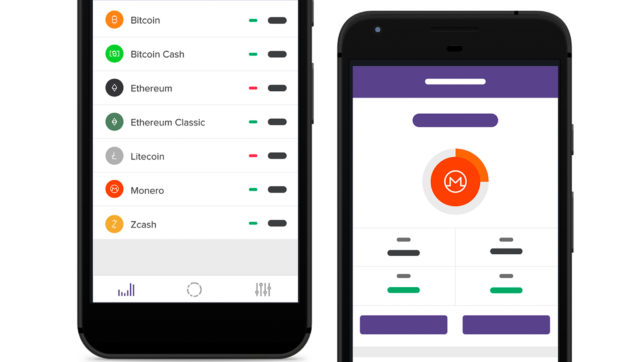 Die App von Circle. © Circle