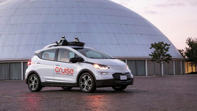 Selbstfahrendes Auto von Cruise Automation. © General Motors