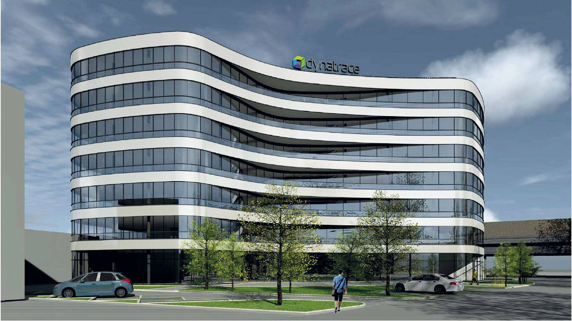 So soll das neue Dynatrace-Headquater aussehen. © PLANET architects /Dynatrace