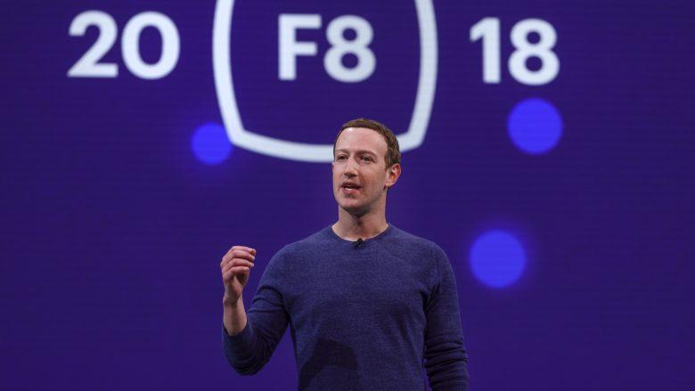 Mark Zuckerberg auf der F8-Konferenz. © Facebook