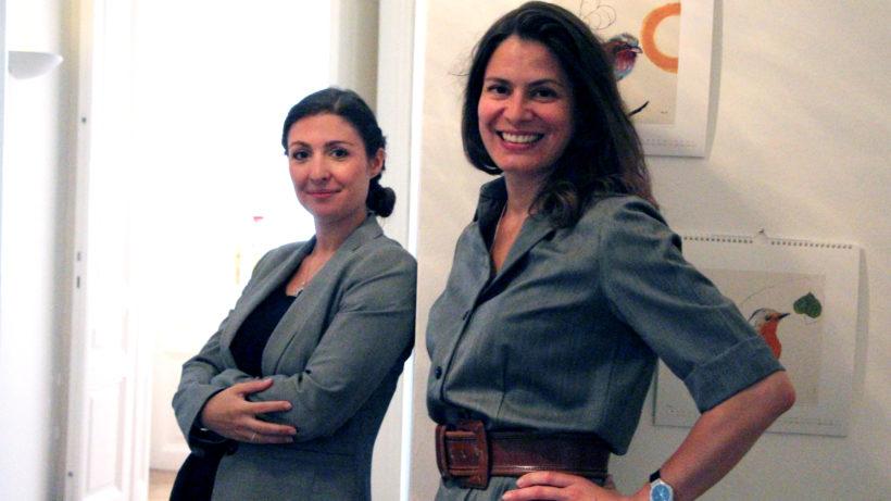 Carmencita Nader und Natalia Corrales-Diez vom Fund of Excellence. © Jakob Steischaden