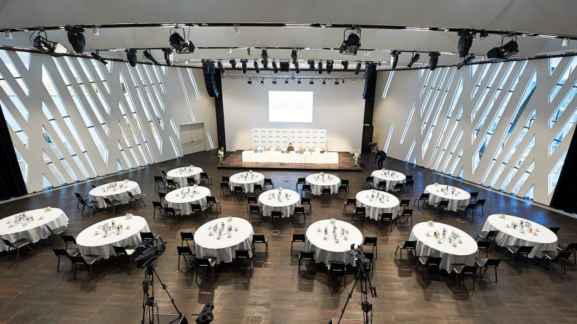 Grand Hall / Erste Campus Belvedere (c) Erste Bank