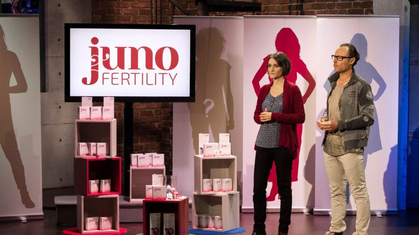 Silvia Hecher und Alexander Just, die beiden Gründer von Ivary (ehemals Juno Fertility). © Puls 4