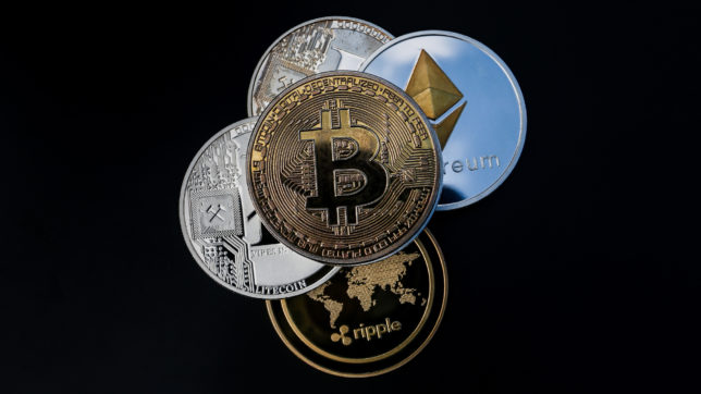 Krypto-Coins. © Pixabay