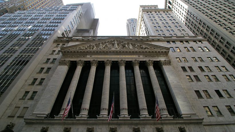 New York Stock Exchange (NYSE) an der Wall Street. © Pixabay