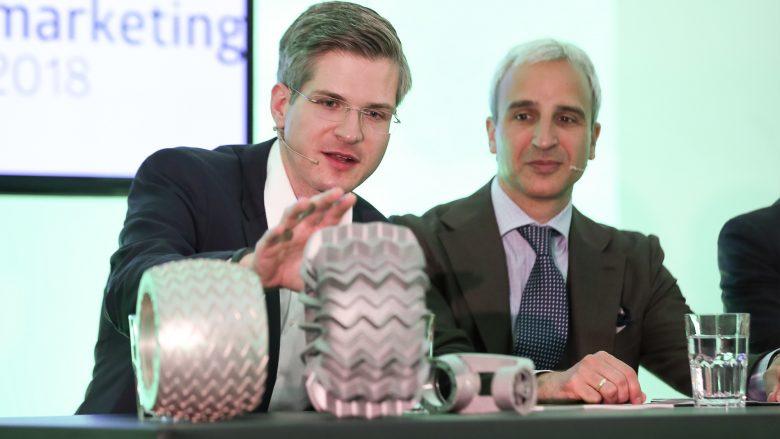 Robert Böhme (PT Scientist) und Martin Distl (Vorstand CMF Österreich). © Robin Consult/Fellner
