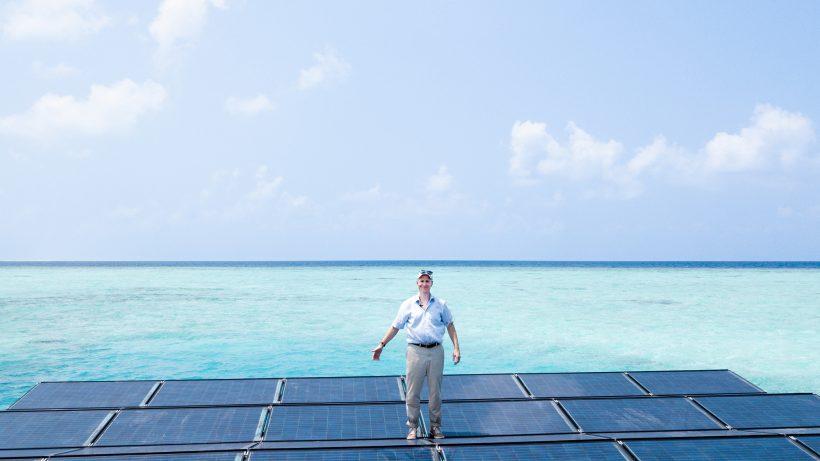 Martin Putschek, der Gründer von Swimsol. © Swimsol