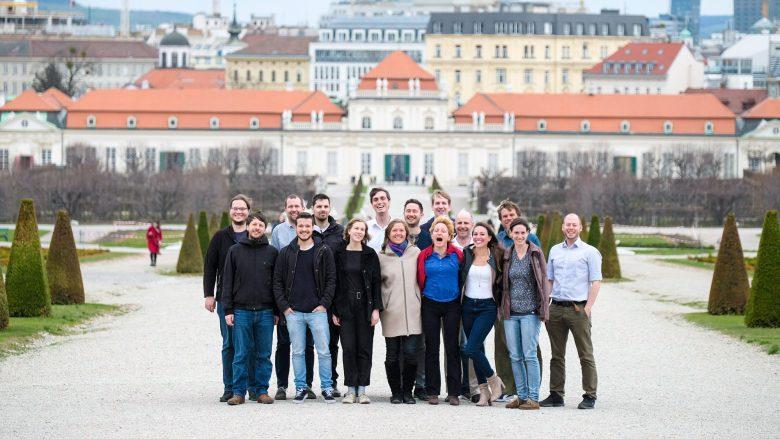 Das Swimsol-Team in Wien. © Swimsol