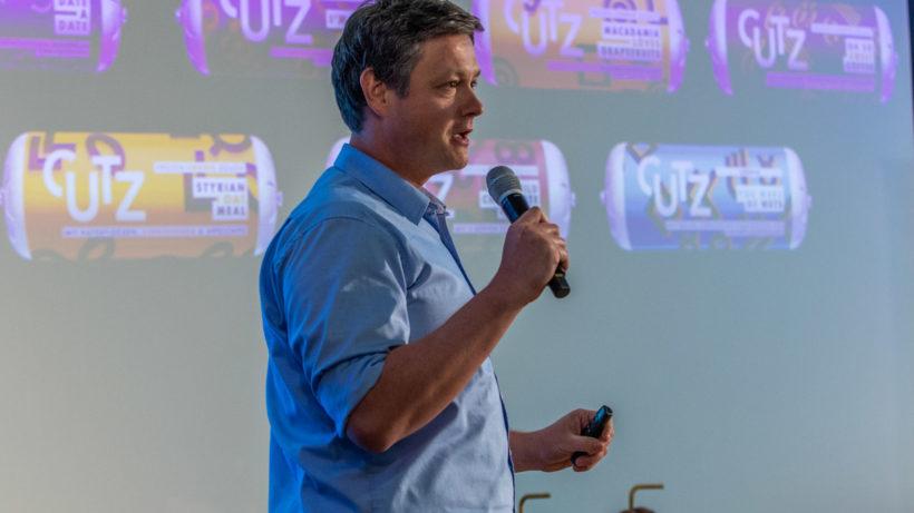 Hubert Weitzer-Parade präsentiert Cutz bei der #glaubandich-Challenge 2018 © David Bitzan