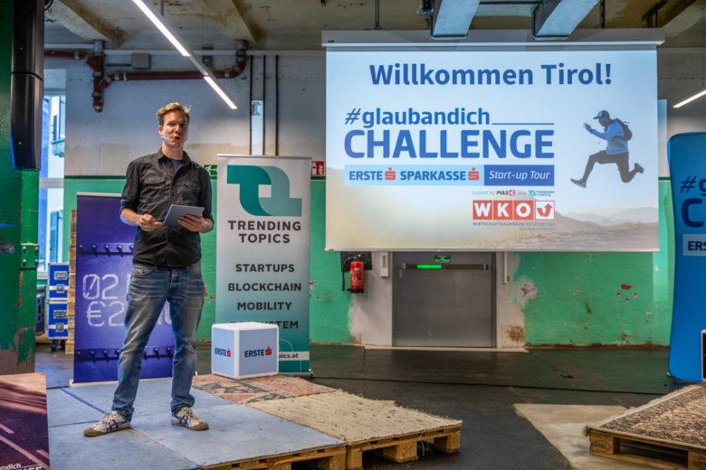 Bei der #glaubandich Challenge in Wattens, Tirol. © David Bitzan