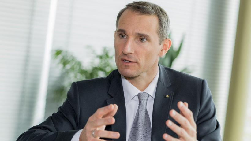 Stefan Dörfler ist Vorstandsvorsitzender der Erste Bank. @ Erste Bank