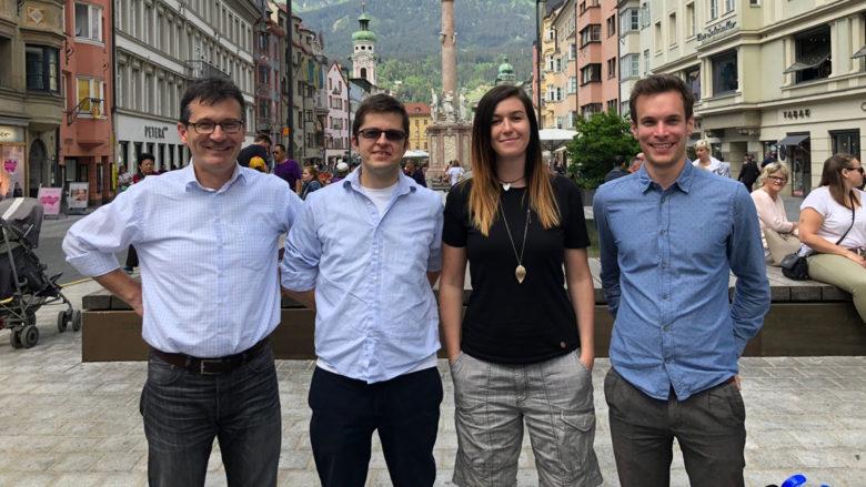 Dietmar Millinger, Clemens Wasner, Magdalena Hauser und Stefan Engl von AI Austria. © AI Austria