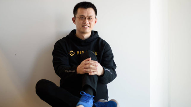Binance-CEO Changpeng Zhao. © Binance