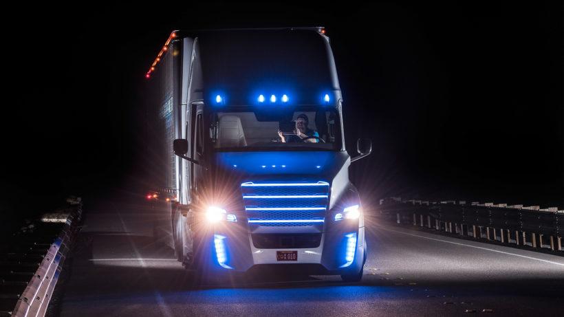 Autonom fahrender LKW (Symbolbild). © Daimler