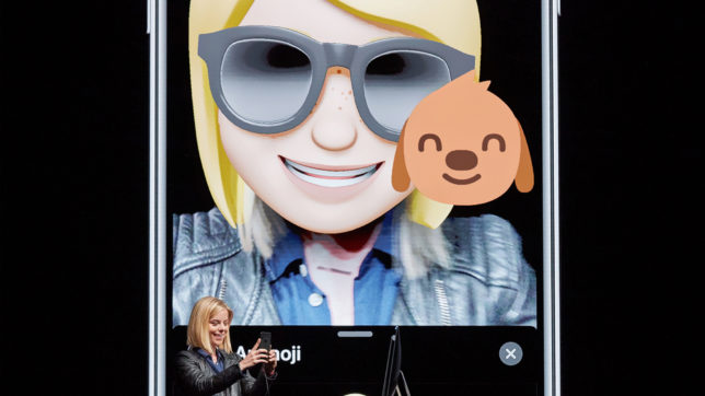 Memoji von Apple-Managerin Kelsey Peterson. © Apple