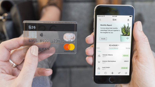 N26-Nutzer bekommen neben der App eine Mastercard. © N26