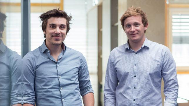Simon Falkensteiner und Matthias Trenkwalder haben Rateboard 2015 gegründet. © Andreas Friedle Photography