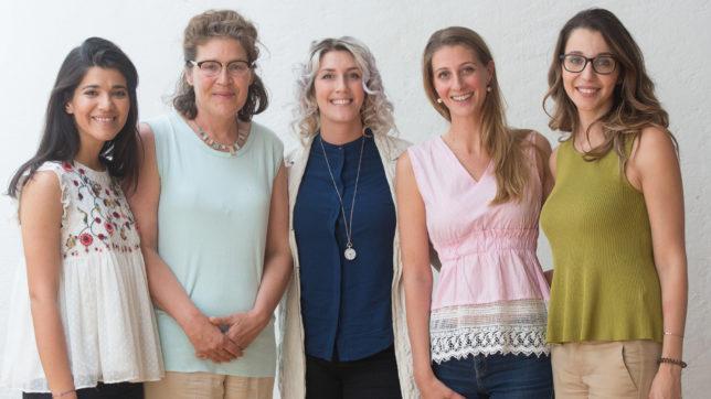 Fatima Almukhtar (Deloitte), Barbara Koren (Shades Tours), Anna Kohl (Deloitte), Perrine Schober (Shades Tours), Sandra Djordjevic (Deloitte). © Cochic Photography