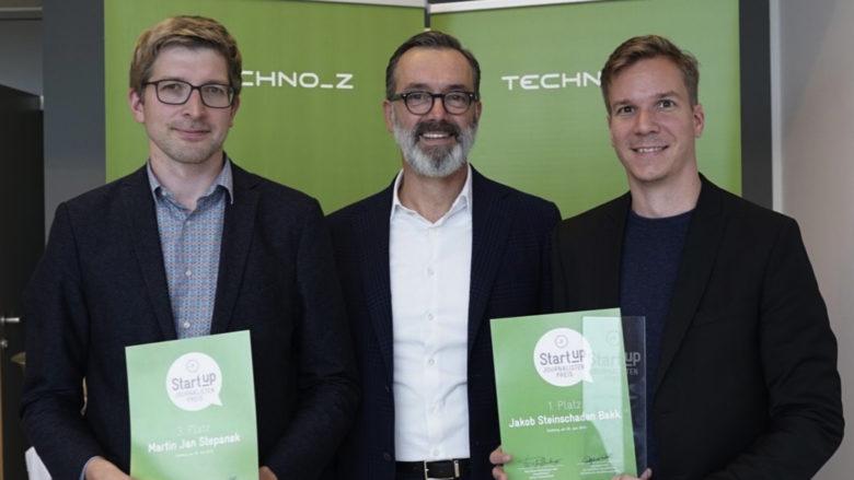 Martin Stepanek (futurezone.at), Werner Pfeifenberger (Techno-Z), Jakob Steinschaden (Trending Topics). © Techno-Z/Enrique Pasquali