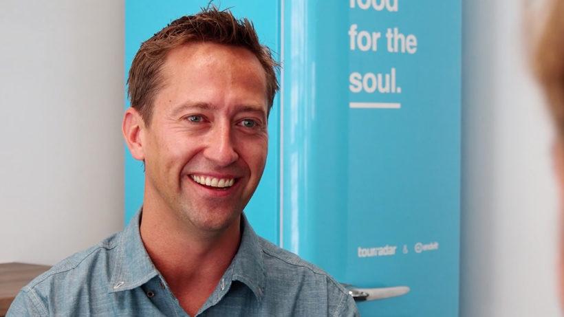 TourRadar CEO Travis Pittman. © Trending Topics