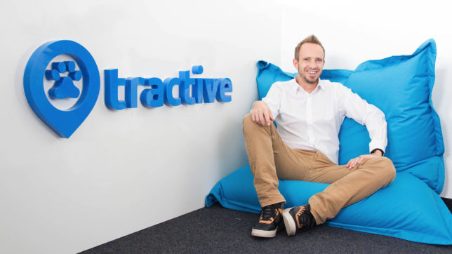 Tractive-CEO Michael Hurnaus. © Tractive