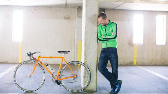 Fabian Gutbrod und sein Bike mit add-e. © add-e