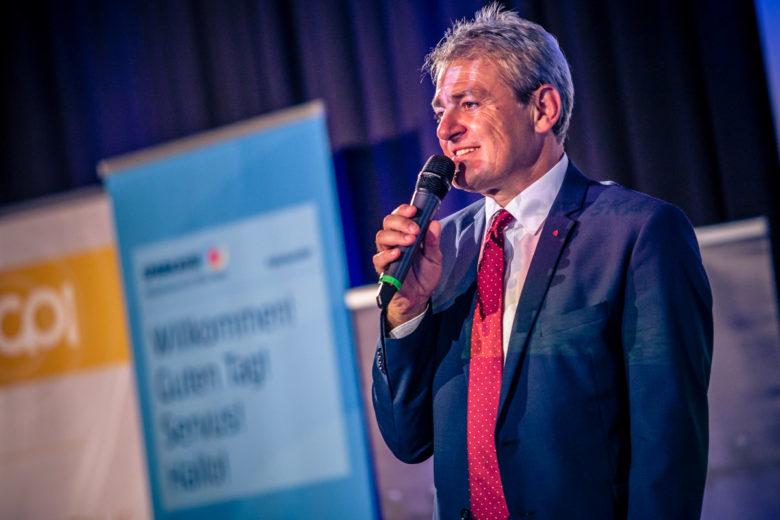 Helge Haslinger, Vorstandsdirektor der Sparkasse Niederösterreich Mitte West AG. © David Bitzan
