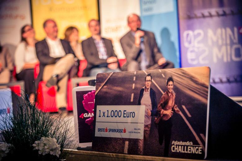 Der Preis für den Landessieger in Niederösterreich. © David Bitzan