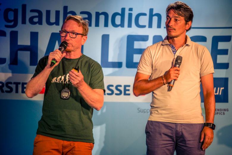 Josef Janksy und Ivica Vastic von GoalGetterAkademie. © David Bitzan