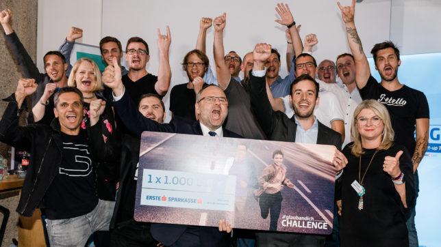 Die angetretenen Startups in Oberösterreich wurden gebührend gefeiert. © Nina Danninger