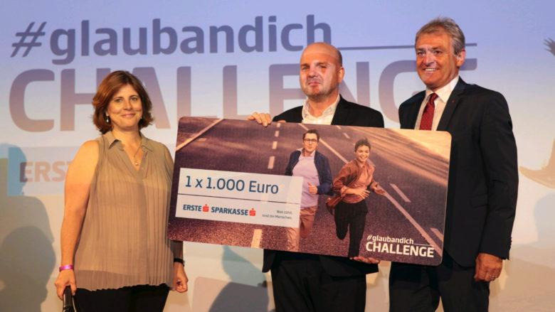 Doris Agneter (tecnet equity), Rainer Schultheis (Saphenus) und Helge Haslinger (Sparkasse Niederösterreich). © David Bitzan